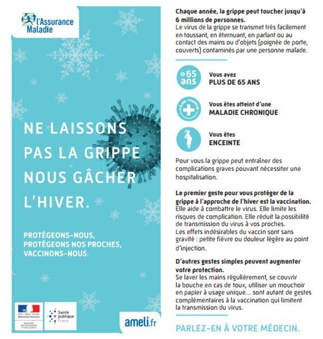 Campagne de vaccination contre la grippe | ORS Grand Est